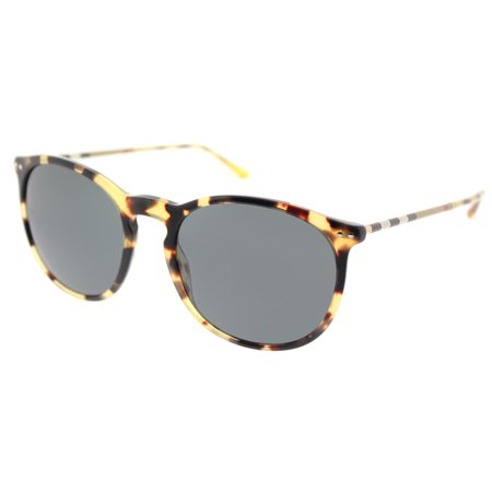 Burberry BE 4250Q 327887 Unisex Round Sunglasses ()