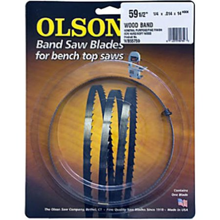 Bench-top Bandsaw Blade, .25 X 59.5