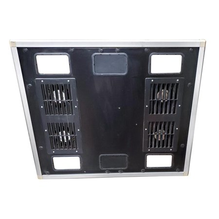 Chatsworth Megaframe M-SERIES Server Cabinet Rack Vented TOP With 4 Fans 012023 Accessories For Cases & Racks - Used Very Good