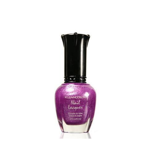 KleanColor 0.5oz Nail Polish Purple, LILAC SPARK, 219