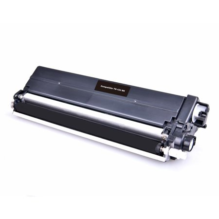 Compatible Brother TN433 Black Toner Cartridge High Yield By Superink - image 1 de 1
