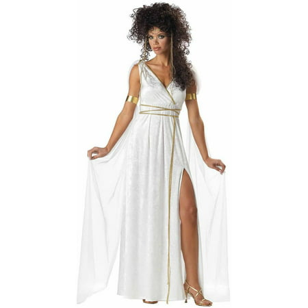 Athenian Goddess Women's Adult Halloween Costume (Roman Goddess Halloween Makeup)
