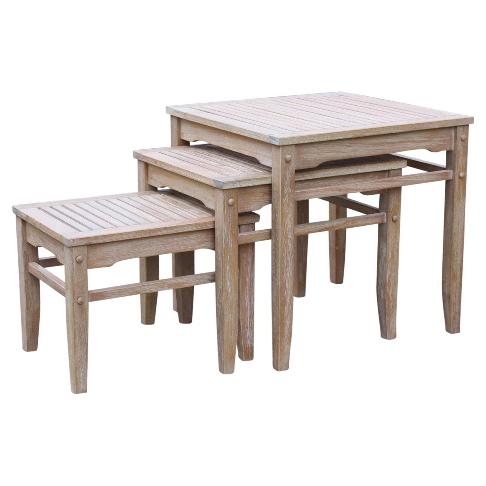 Cambridge Casual Astoria 3 piece Patio Nesting Table