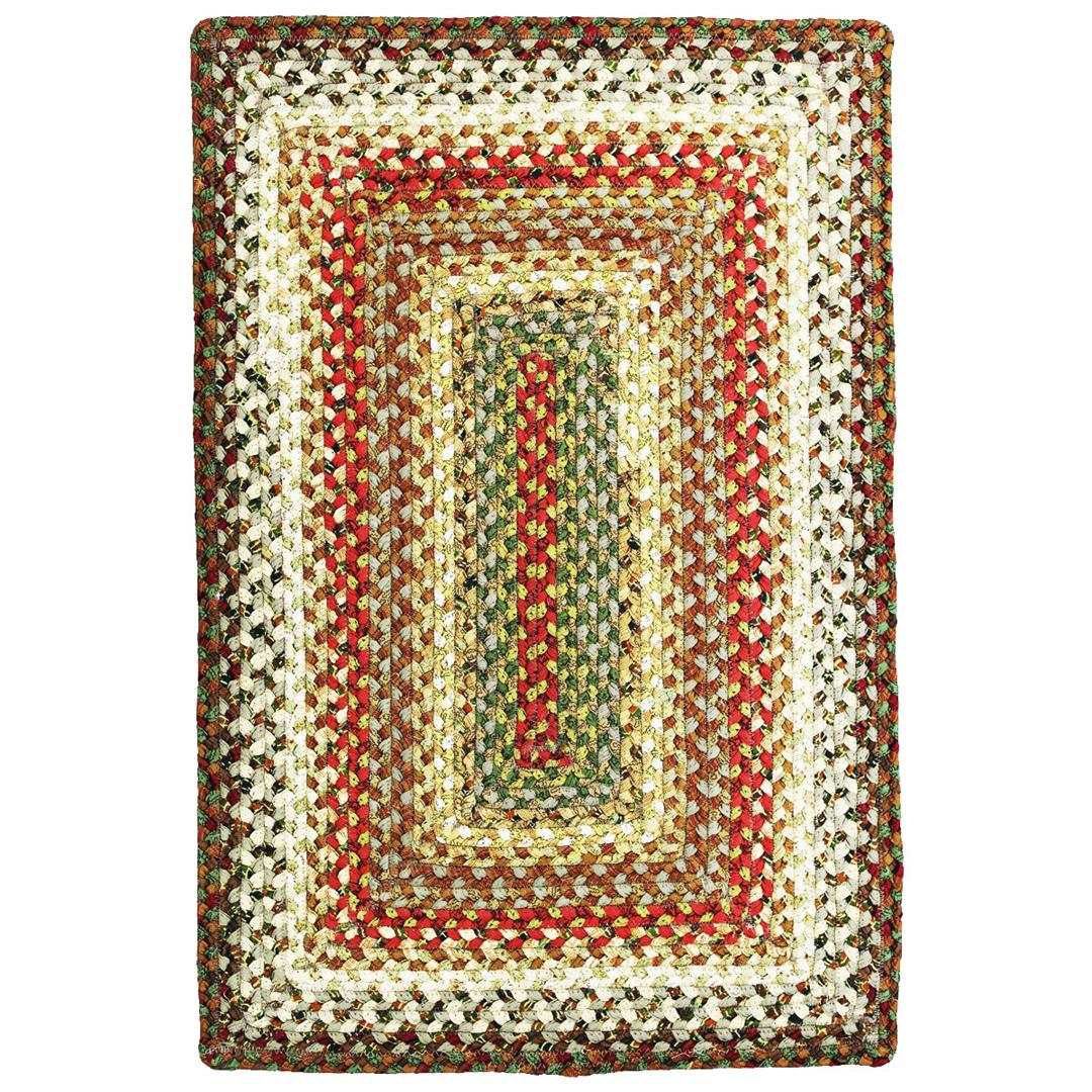 Homespice Bosky Braided Rectangle Rug - (1 foot 8 inch x 2 foot 6 inch)