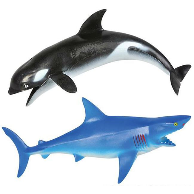 DDI 2124772 10 in. Whale & Shark Assortment Toy, Case of 216 by