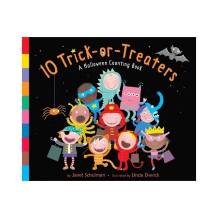10 Trick-or-Treaters: A Halloween Counting Book by
