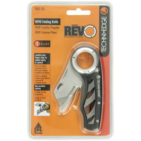 techniedge revo folding utility knife, comfort
