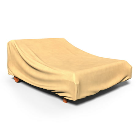 Budge All-Season Patio Chaise Covers, Durable and Waterproof Outdoor Furniture Covers