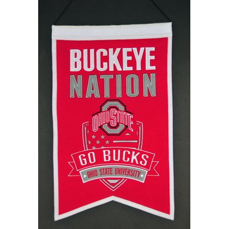 Ohio State Banner (Ohio State Buckeyes Banner Wool Nations )