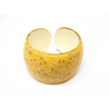 Alur Bijoux 26210OL mousseux plastique Bracelet en Olive - image 1 de 1