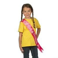 Disney Princesses Birthday Sash for Birthday - Party Supplies - Licensed Tableware - Misc Licensed Tableware - Birthday - 1 Piece