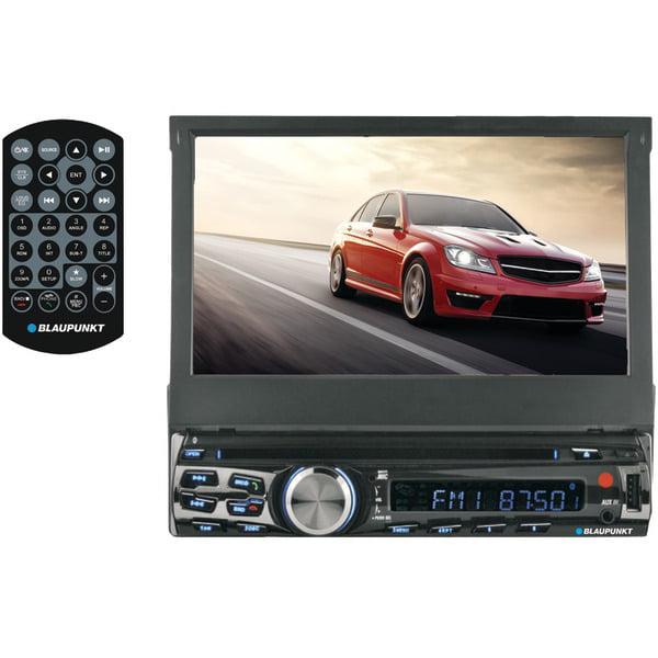 """Blaupunkt AUS440 AUSTIN 440 7"""" Single-DIN In-Dash DVD Receiver with Bluetooth(R)"""