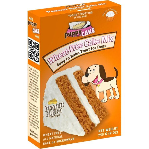 Stupendous Puppy Cake Wheat Free Peanut Butter Cake Mix And Frosting Personalised Birthday Cards Arneslily Jamesorg