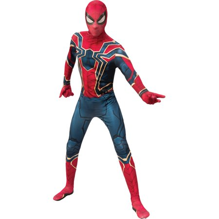 Superhero Costumes Melbourne (Mens Spider-Man 2nd Skin Superhero Suit Deluxe)