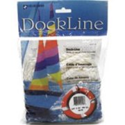 "Unicord Dock Line Solid Braid Multifilament Polypropylene - White - 3/8"" X 15'"