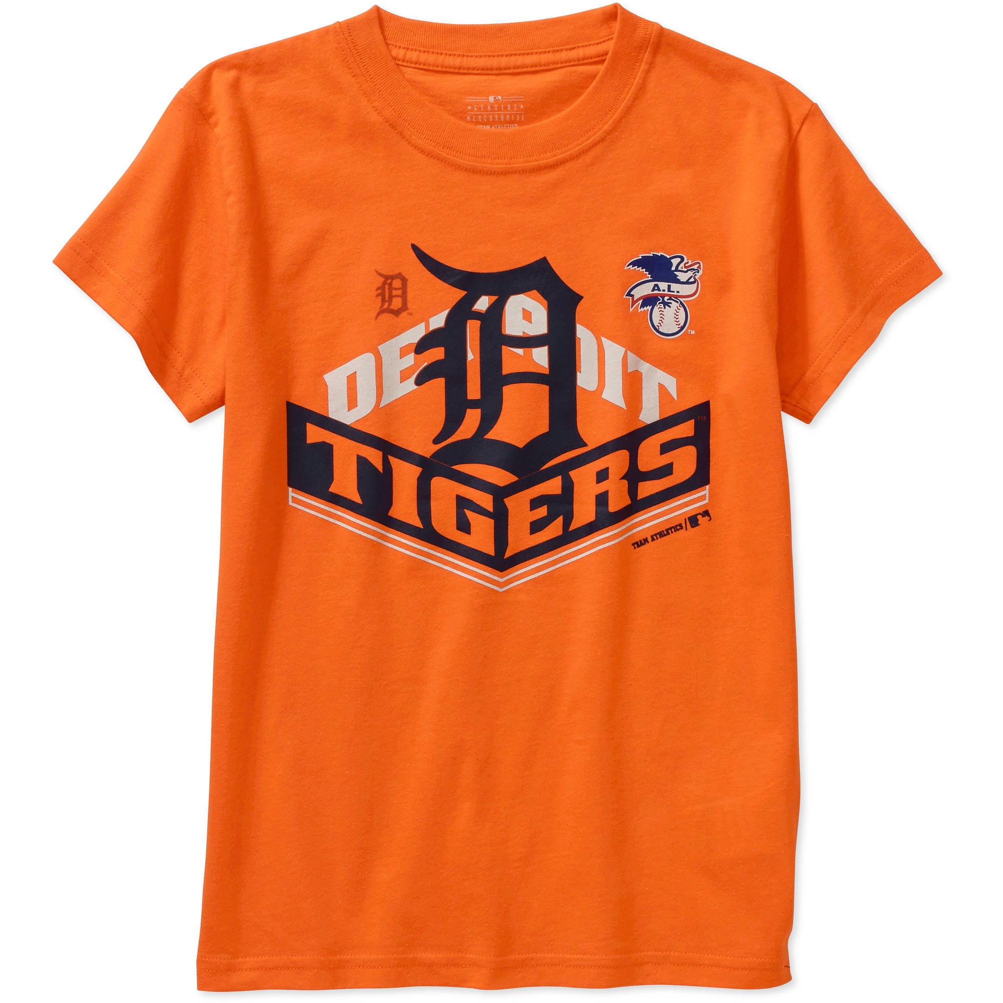 MLB  Boys' Detroit Tigers  Alternate Team Short Sleeve Tee