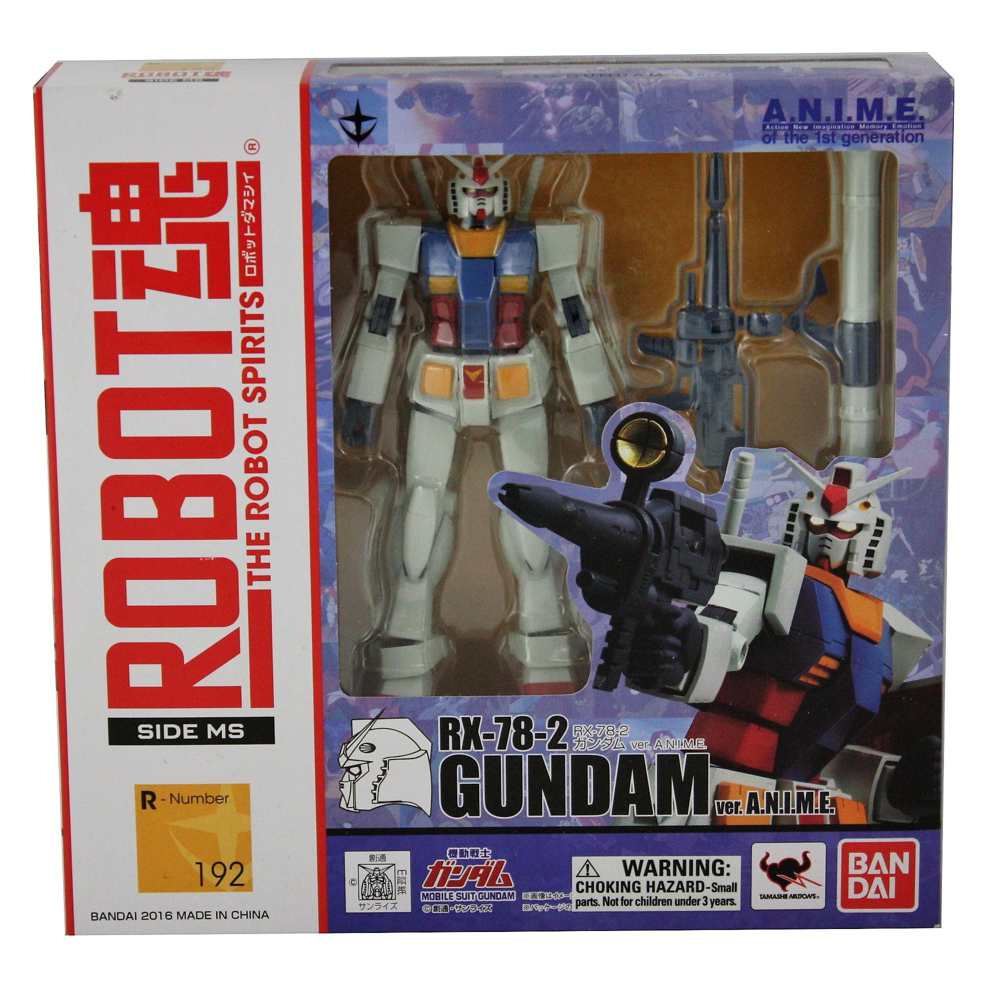 Bandai Tamashii Nations RX-78-2 Ver. A.N.I.M.E. Mobile Suit Gundam Bandai Robot Spirits Action Toy Figure by Bandai