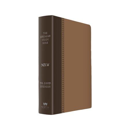 Brown Burnished Full Grain Footwear (The Jeremiah Study Bible, NIV: (Brown w/ burnished edges) Leatherluxe® : What It Says. What It Means. What It Means for)