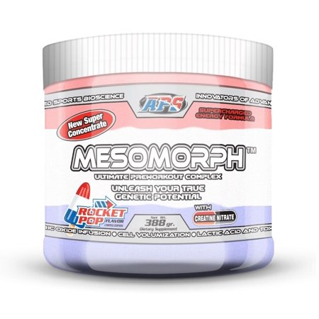 Mesomorph PRE-ENTRAINEMENT - ROCKET POP - NUTRITION APS