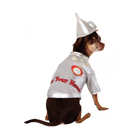 Male Dog Costumes (Tin Man Dog Costume)
