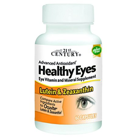Healthy Eyes Lutein and Zeaxanthin - 60 Capsules by 21st Century 21st Century Healthy