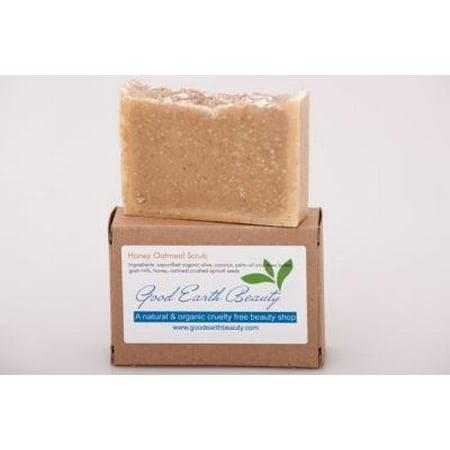 Soap Natural Honey Oatmeal Scrub By Good Earth
