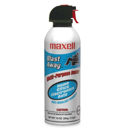Maxell Corp. Of America Canned Air, Nonflammable, 10 oz.