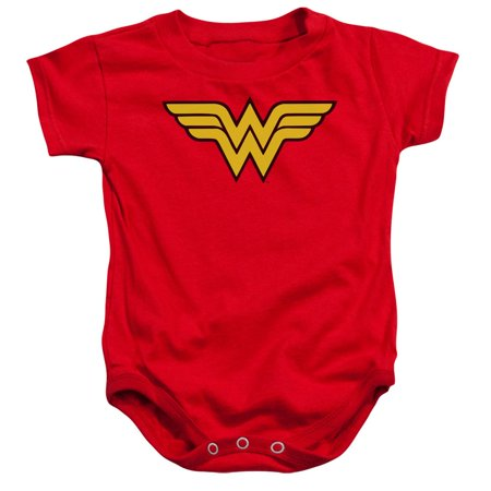 Wonder Woman Onsie (dc comics wonder woman logo baby infant romper)