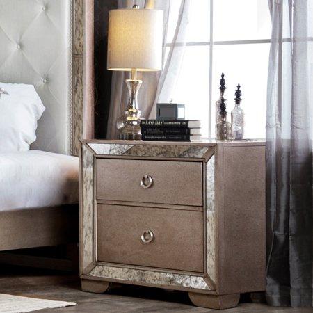 Furniture of America Andriani 2 Drawer - American Spirit Nightstand