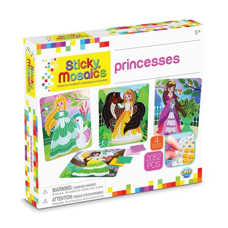 The Orb Factory Sticky Mosaics Princesses -