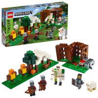 LEGO Minecraft The Pillager Outpost 21159 Action Figure Brick Building Playset (303 Pieces)
