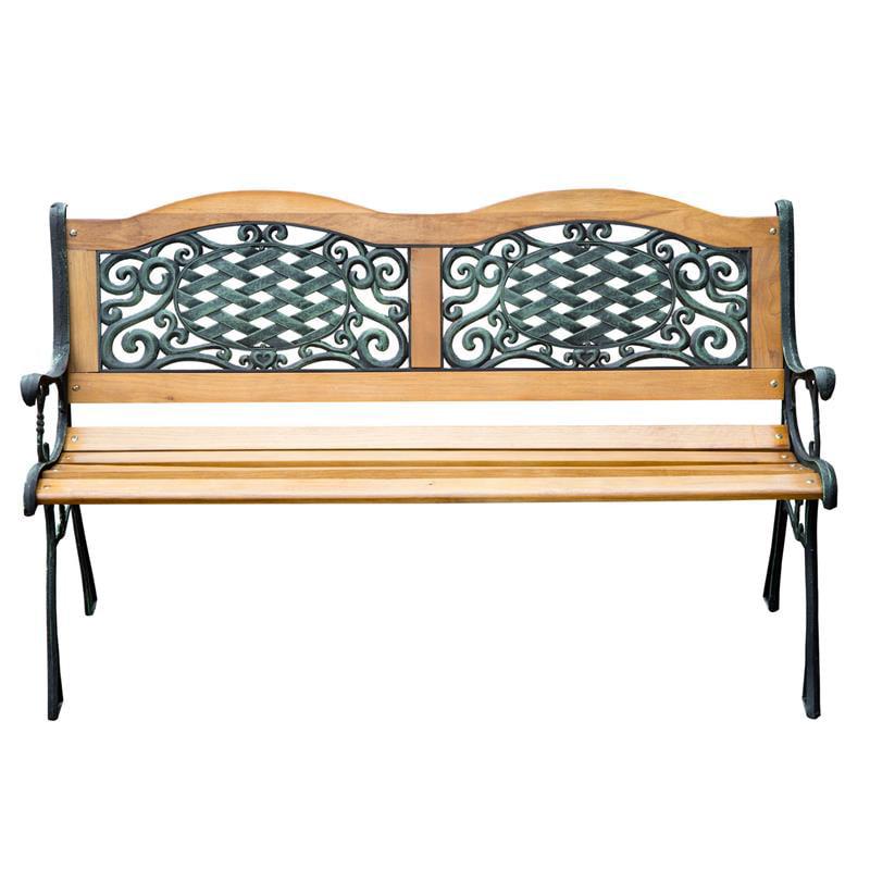 """Outsunny 50"""" Outdoor Patio Garden Park Bench Love Seat"""