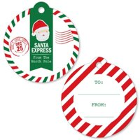Santa's Special Delivery - From Santa Claus Christmas Favor Gift Tags (Set of 20)