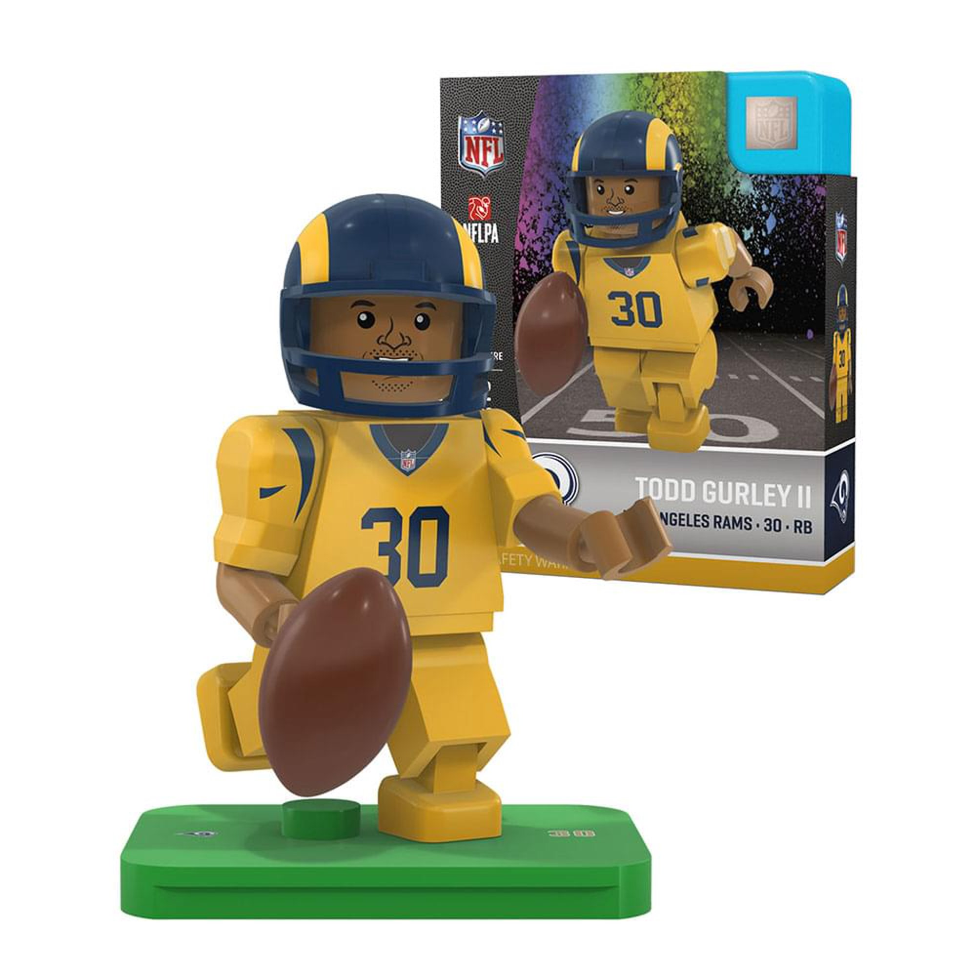 newest 2d063 bca19 OYO Sports NFL Los Angeles Rams Todd Gurley G4 Color Rush ...