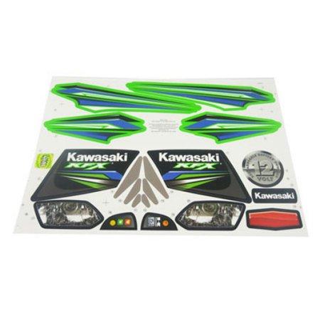 Power Wheels X6641 Toy Kawasaki KFX Label Decal Sheet Fisher Price Genuine