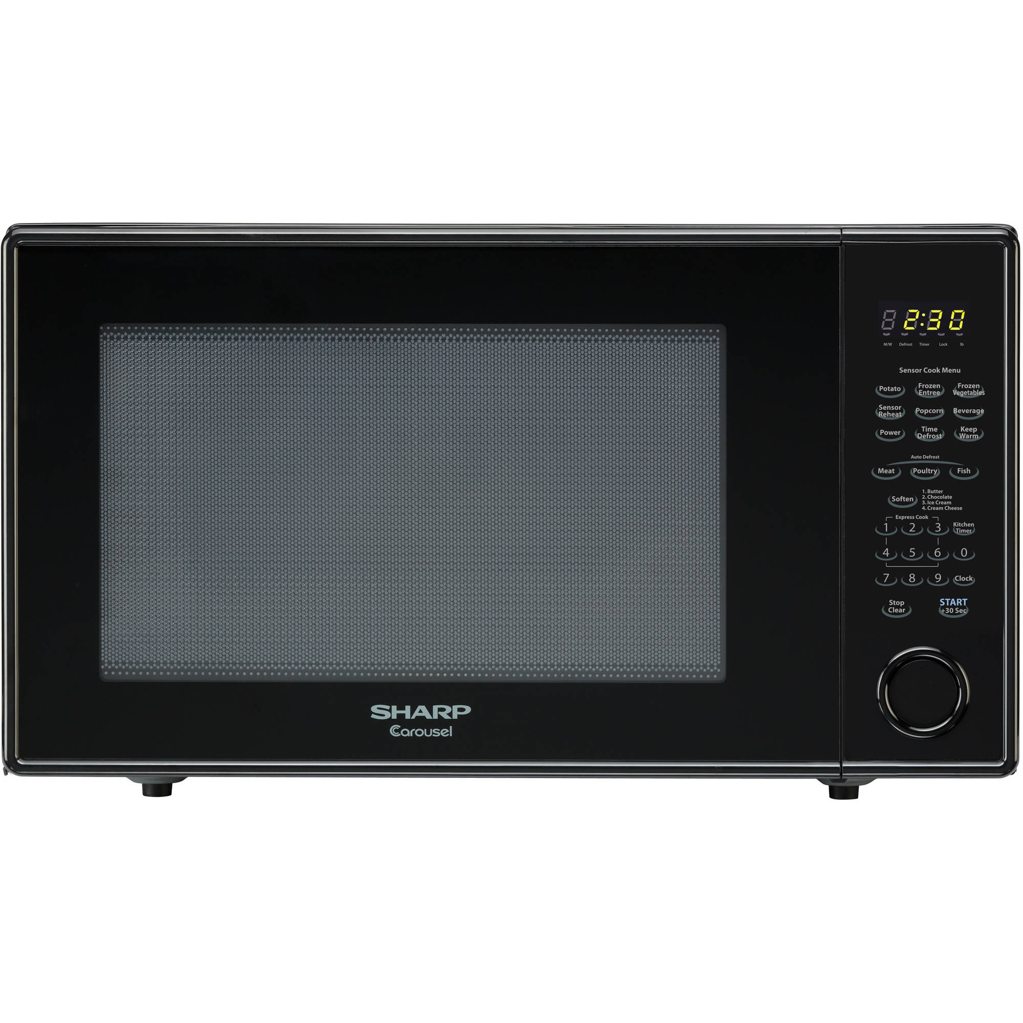 Sharp ZR659YK 2.2 Cu Ft Microwave, Black