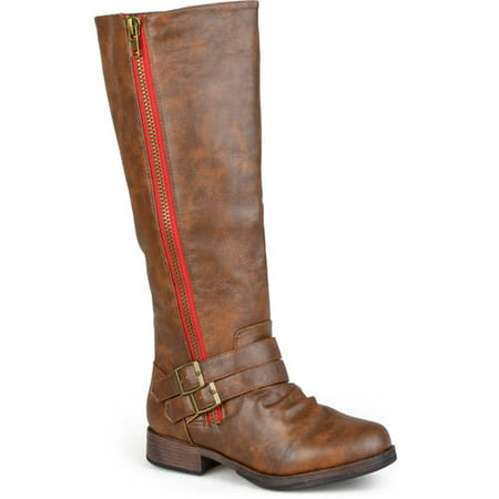 Image of Brinley Co. Women's Tall Buckle Detail Boots