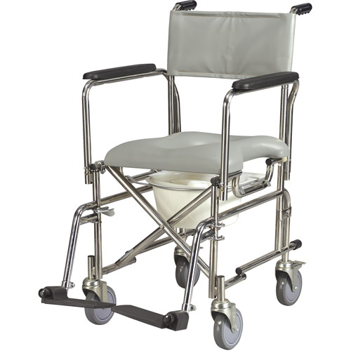 Medical Depot Inc Stainless Steel Rehab Shower Chair Commo