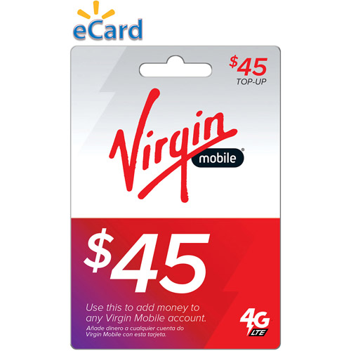 $45 Virgin Web (Email Delivery)