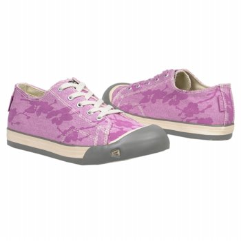Keen Kids Coronado Girls Shoes, Crocus Flower Print, 2 US by