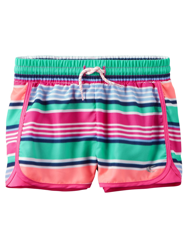 Carter's Little Girls' Active Shorts, 2-Toddler