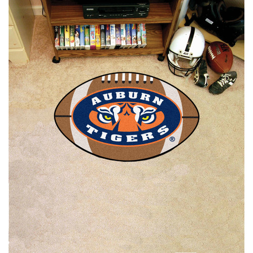 FANMATS NCAA Auburn University Football Mat