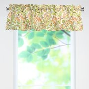 Brite Ideas Living Findlay Apricot Rod Pocket Curtain Valance