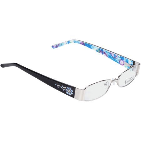 e83b418426 Pomy Eyewear Rx-able Eyeglass Frames 382 Midnight Bloom - Walmart.com