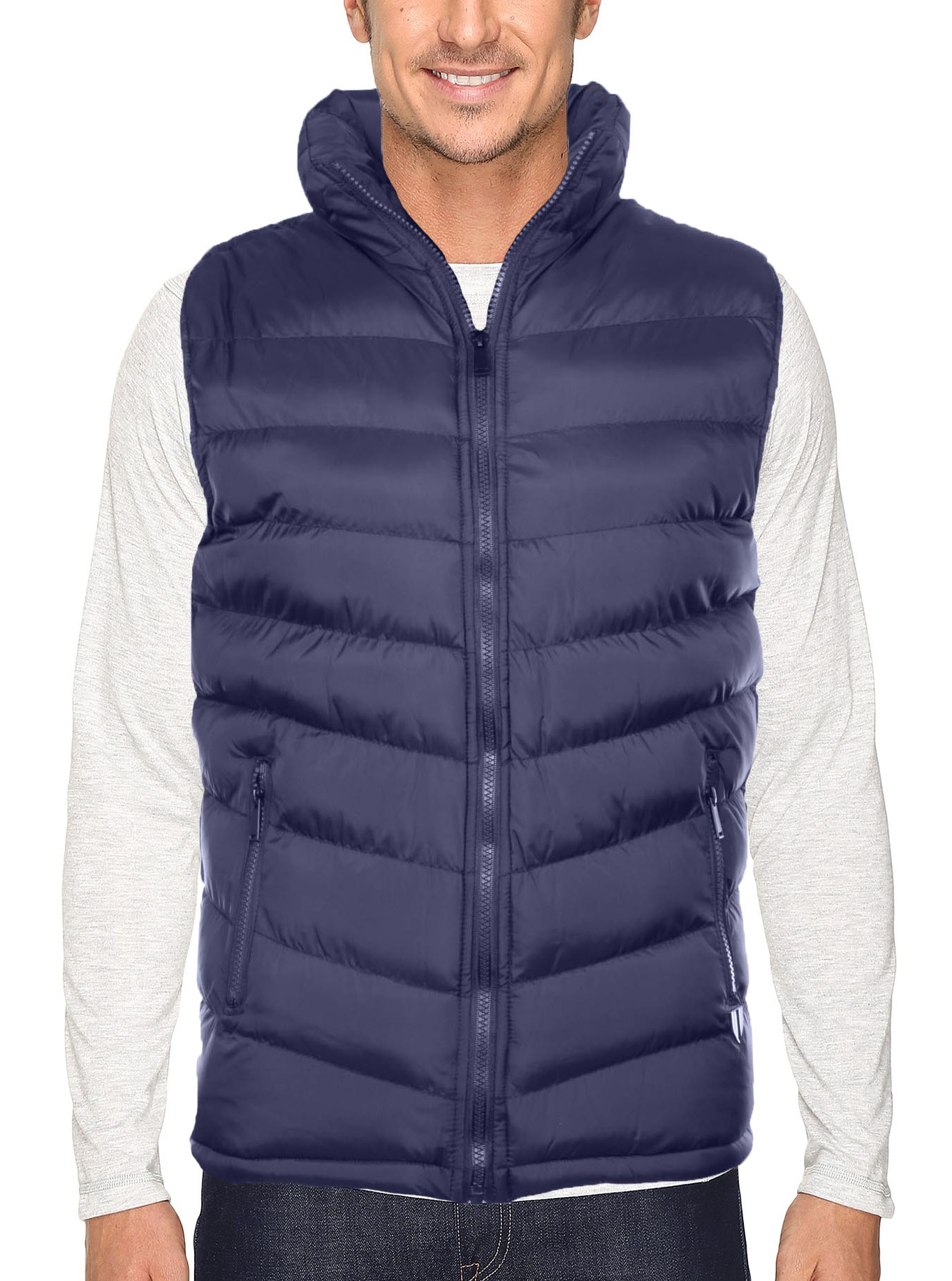 True Rock Men's Quilted Puffer Vest by True Rock