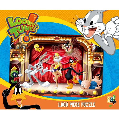 Looney Tunes Rock Stars 1000 Piece Puzzle,  Puzzles by Go! Games