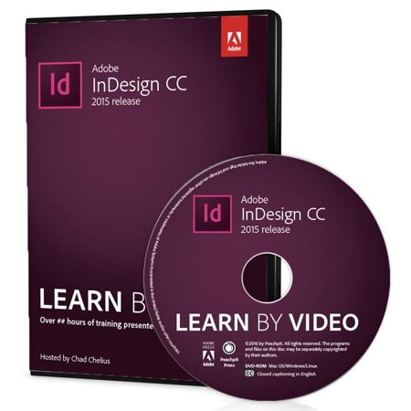 Adobe Indesign CC Learn by Video (2015 Release) (Hardcover) ()