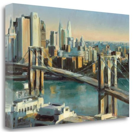 Tangletown Fine Art 'Into Manhattan 36c24' Print on Wrapped - 36c 24 34
