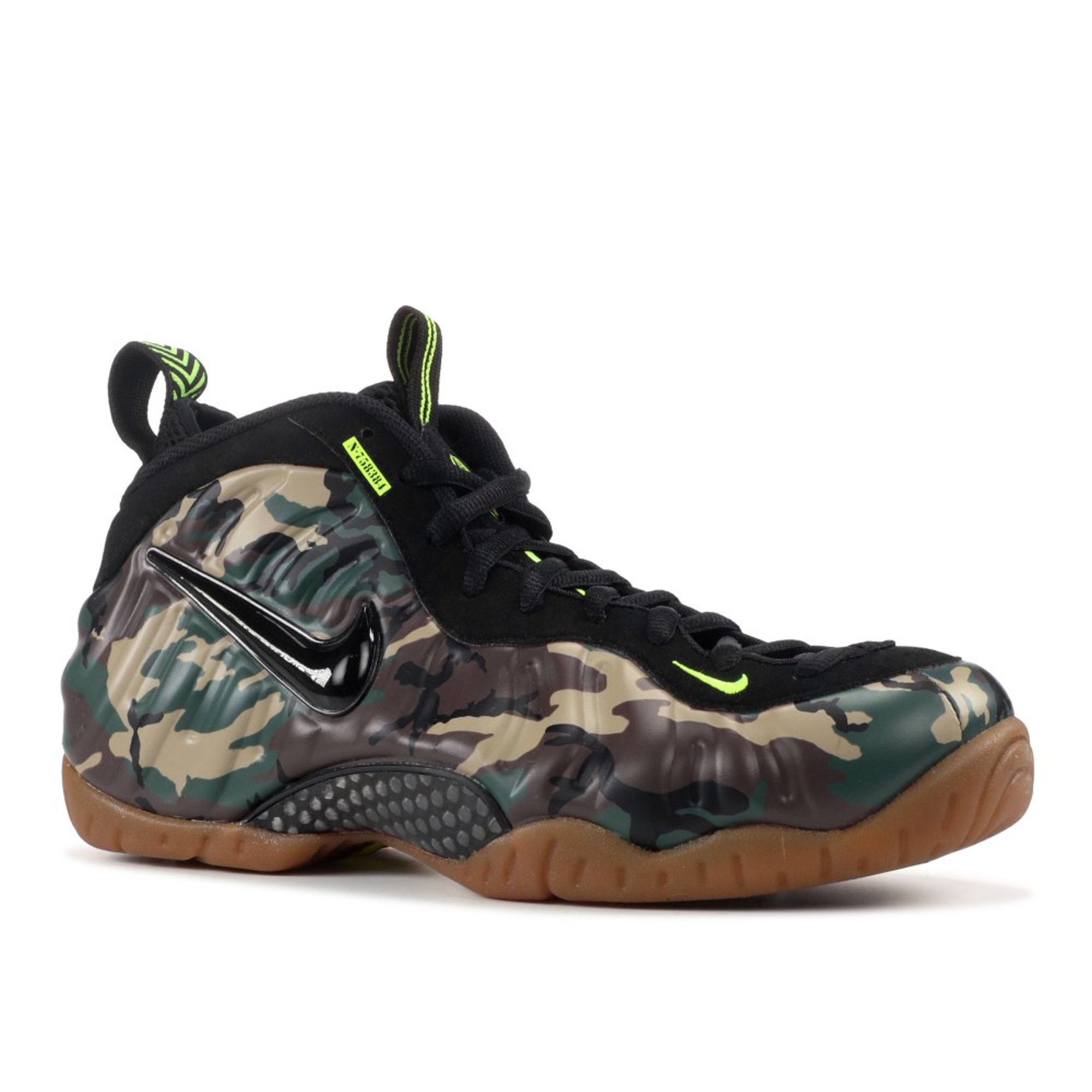 51bb2f55c21c2 Nike - Men - Air Foamposite Pro Prm Le  Green Camo  - 587547-300 - Size 10