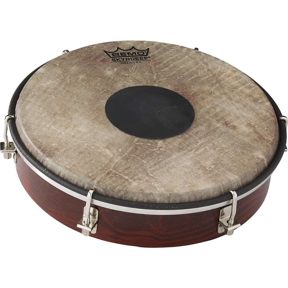 Remo Tablatone Frame Drum Brown and White Skyndeep Fish Skin 8 in.